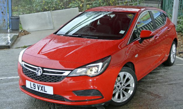 Timely Vauxhall Astra is a headlining British success story
