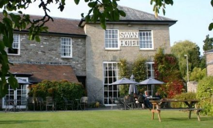 The Swan at Hay restored to former glory