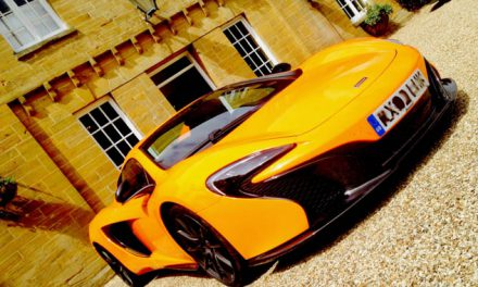 Supercars, coffee and cake at The Queens Arms