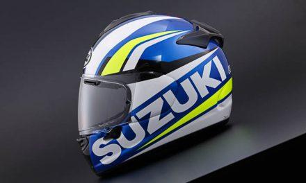 Suzuki and Arai release MotoGP-inspired Chaser-X helmet